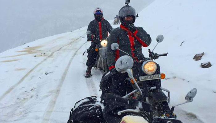 snow bike travel