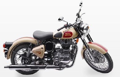 Royal Enfield Beige Tan 500 CC